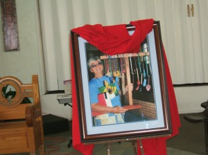 Photo of Sister Dorothy at a Sept. 28, 2008 Franciscan Renewal Center Memorial Mass