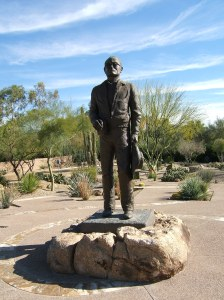 Goldwater statue created by Cowboy Artist of America Joe Beeler