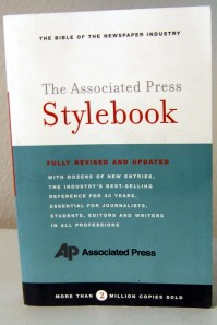 """The Associated Press Stylebook"""