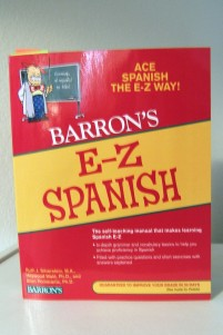 The Spanish text used in noncredit conversational Spanish class.