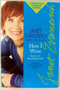 "Janet Evanovich shows ""How I Write."""