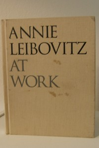 "Book describes ""Annie Leibovitz at Work."""