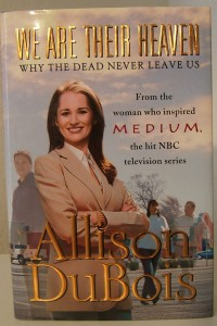 "Psychic medium Allison DuBois answers questions in ""We Are Their Heaven."""