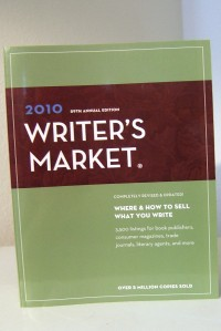 '2010 Writer's Market' provides answers for writers.
