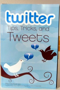 "Paul McFedries writes ""twitter: Tips, Tricks, and Tweets."""