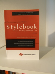 "The Associated Press presents new revised and updated ""Stylebook."""