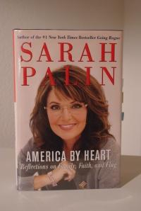 "Sarah Palin writes ""America by Heart."""