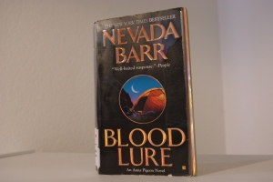 "Nevada Barr's ""Blood Lure"" takes place in Glacier National Park."