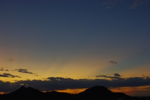 On the 10th anniversary of 9/11, the sun still rises over Shadow Mountain, but we will NEVER FORGET!