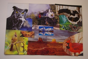 The third and final art image for the day encapsulated a world of possibilities for 2012.