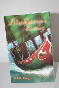 """Blackstrap's Ecstasy"" follows Captain Blackstrap Gennie on her pirate adventures."